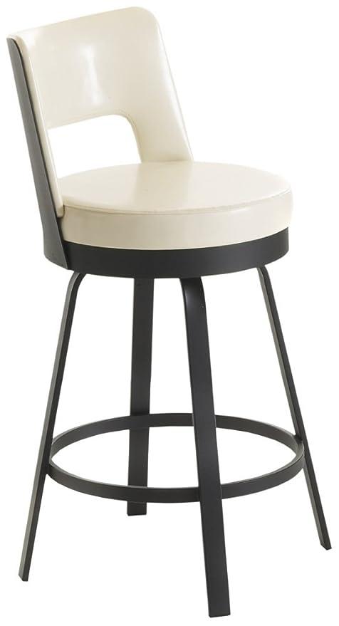 Incredible Amazon Com Amisco Brock Eggshell 26Quot High Swivel Bralicious Painted Fabric Chair Ideas Braliciousco