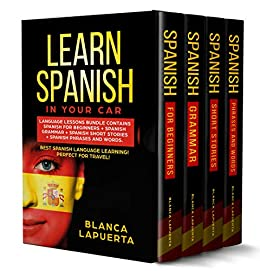 LEARN SPANISH YOUR CAR Beginners ebook product image