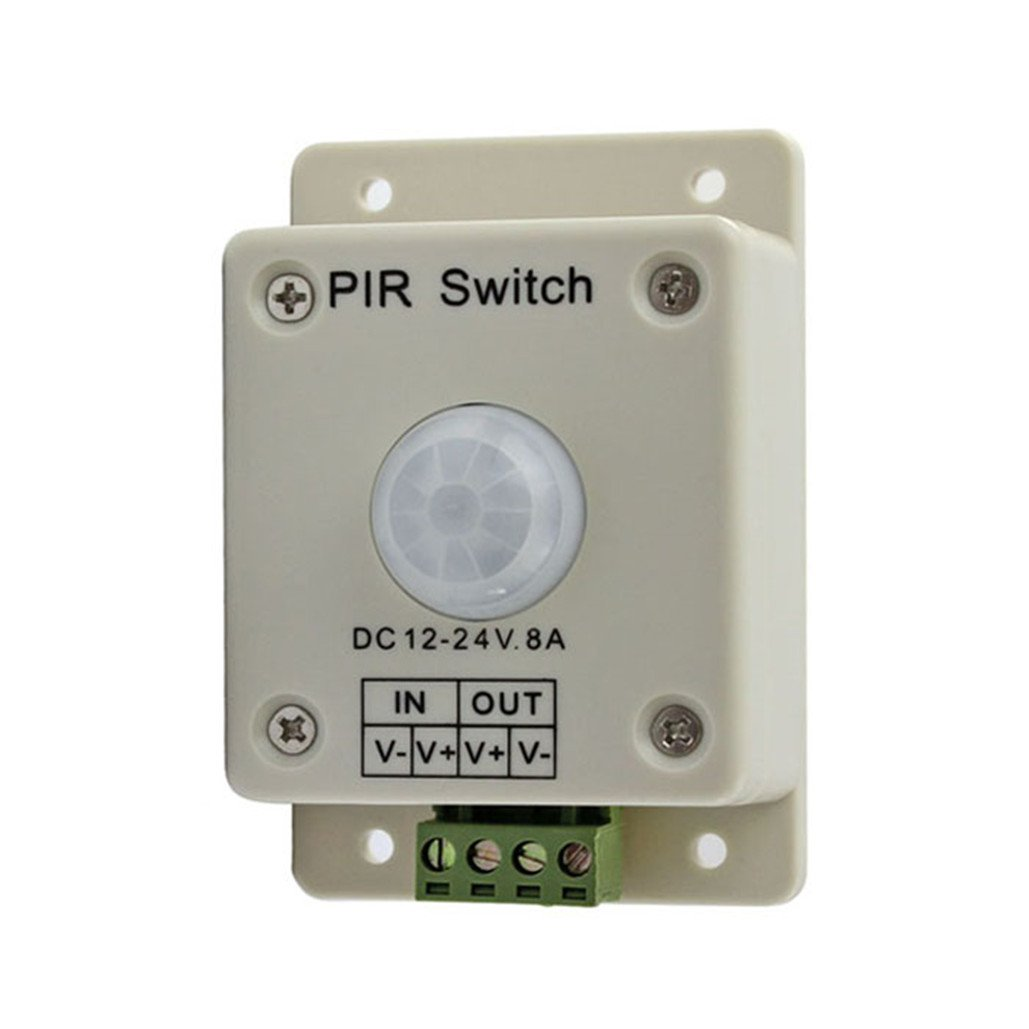 Automatic DC12V-24V 8A Infrared PIR Motion Sensor Switch For LED Light PS003
