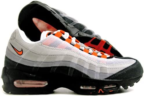 Nike Mens Air Max 95 LTD White Team Orange Trainers Size UK