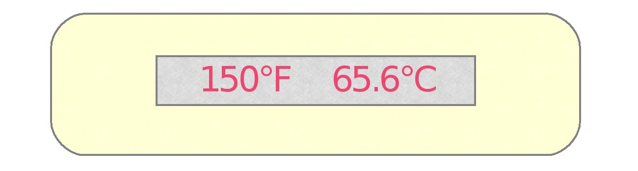 1-Temp Thermolabel 150°F/65.6°C Temperature Labels Pack of 24 Labels by Paper Thermometer