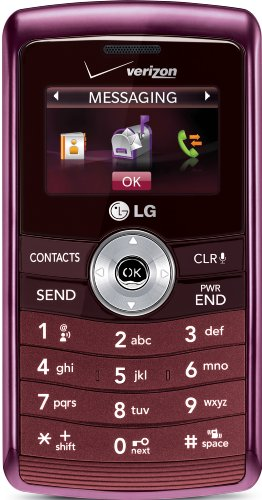 LG enV3 VX9200 Phone, Maroon (Verizon Wireless)
