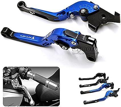CNC extensible pliable R/églage de La moto leviers de frein dembrayage pour Yamaha Mt-09/MT-07/Tracer 2014/2015/2016
