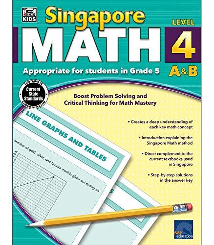 (Singapore Math, Level 4 A & B)