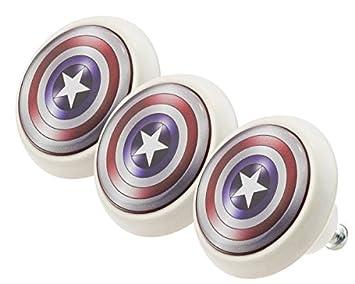 Mobelknopf Set 0188 Kinder Captain America 3er Keramik Porzellan