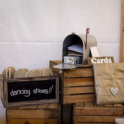 0806ebcd6da11e 6 x Rustic Wedding Decor Shabby Chic Vintage Wooden Apple Crates ...