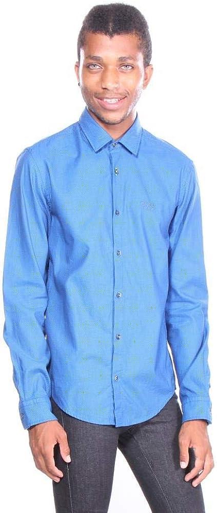 Hugo Boss Mens Brod/_S Button Down Shirt Shirts 100/% Cotton