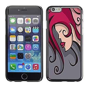 Dragon Case - FOR iPhone 6 - The beauty of the kiss - Caja protectora de pl??stico duro de la cubierta Dise?¡Ào Slim Fit
