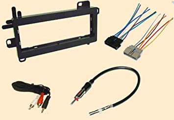 amazon com jeep wrangler 1997 1998 1999 2000 2001 2002 stereo jeep wrangler 1997 1998 1999 2000 2001 2002 stereo wiring harness dash install kit faceplate