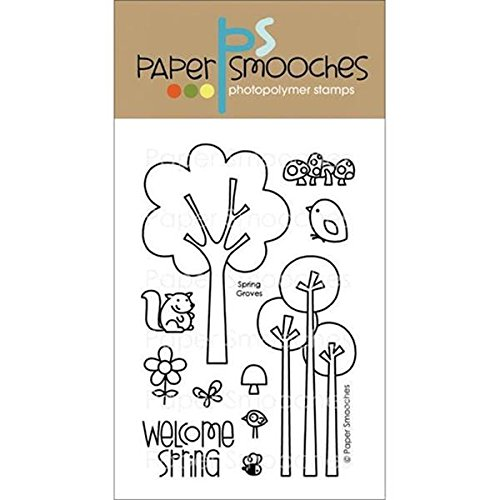Grove Springs (Paper Smooches Clear Stamps, 4 by 6-Inch, Spring Groves)