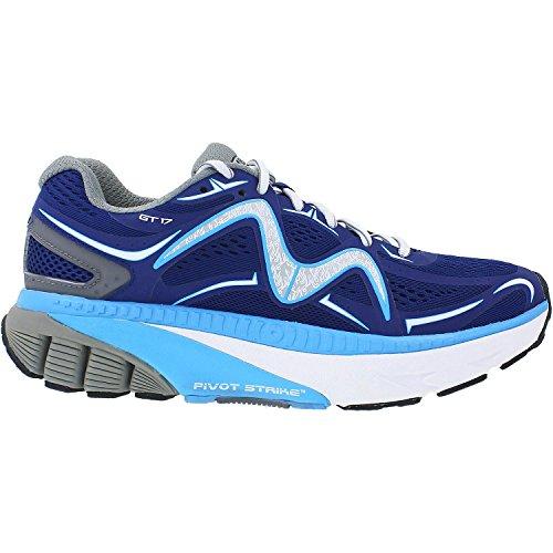 Liquidación de nuevos estilos Wiki Barato en línea Gt 17 Atlética Zapatos De Cuero / Malla Azul Marino Con Cordones / Malla Blanca / Gris Mbt Zapatos De Los Hombres QYNMRgGrU
