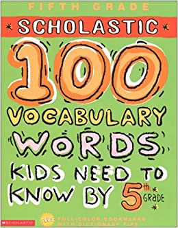 amazon 100 vocabulary words kids need to know by 5th grade 100