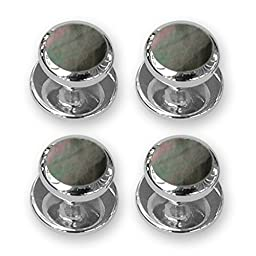Sterling Silver Plated Shirt studs