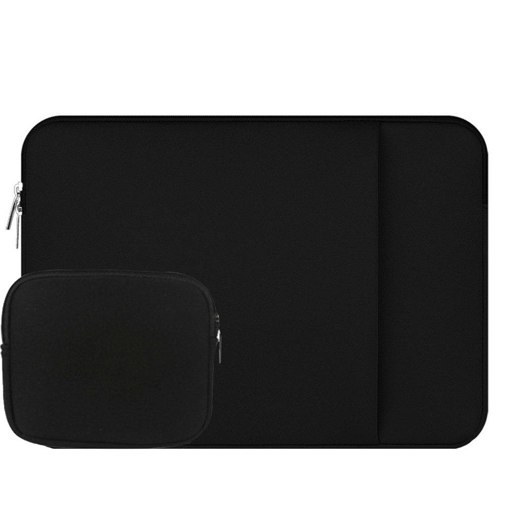 11 Pulgada tejido de poliéster que lleva el caso a prueba de choques impermeable de la manga del ordenador portátil bolso del ordenador portátil del ordenador portátil para el / ordenador portátil / Ultrabooks / MacBook Pro / MacBook Air Pink ZiXing 74402
