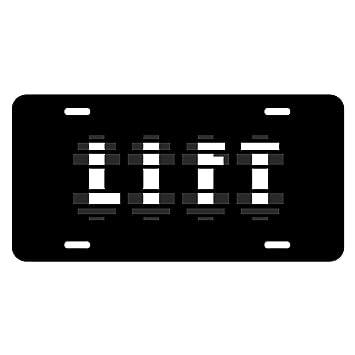 Personalizada Metal licencia placa mancuernas de elevación levantamiento de peso - Custom Auto Car Etiqueta 12 pulgadas x 6 pulgadas: Amazon.es: Deportes y ...