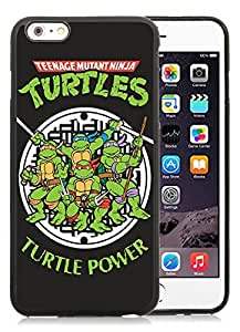 Teenage Mutant Ninja Turtles Black iPhone 6 Plus 5.5 inch TPU Cellphone Case Luxurious and Newest Design