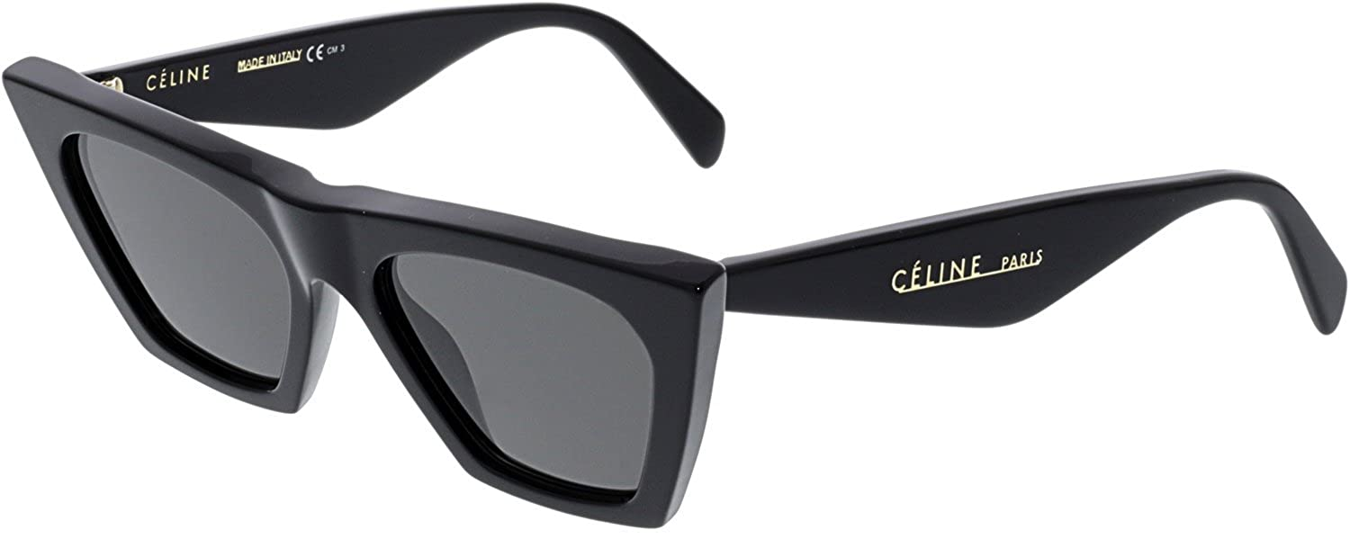 0fd73213299 Celine CL41468 S 807 Black CL41468 S Cats Eyes Sunglasses Lens Category 3  Size at Amazon Men s Clothing store