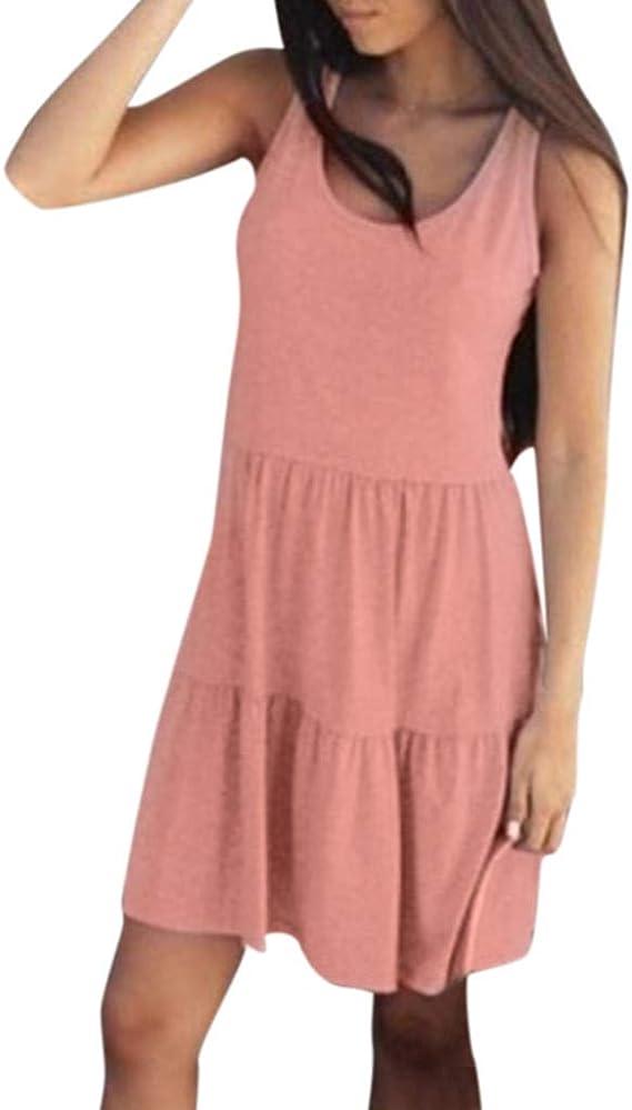 Women/'s Dress Sundress Holiday Solid color Long Fashion Dress Sundress