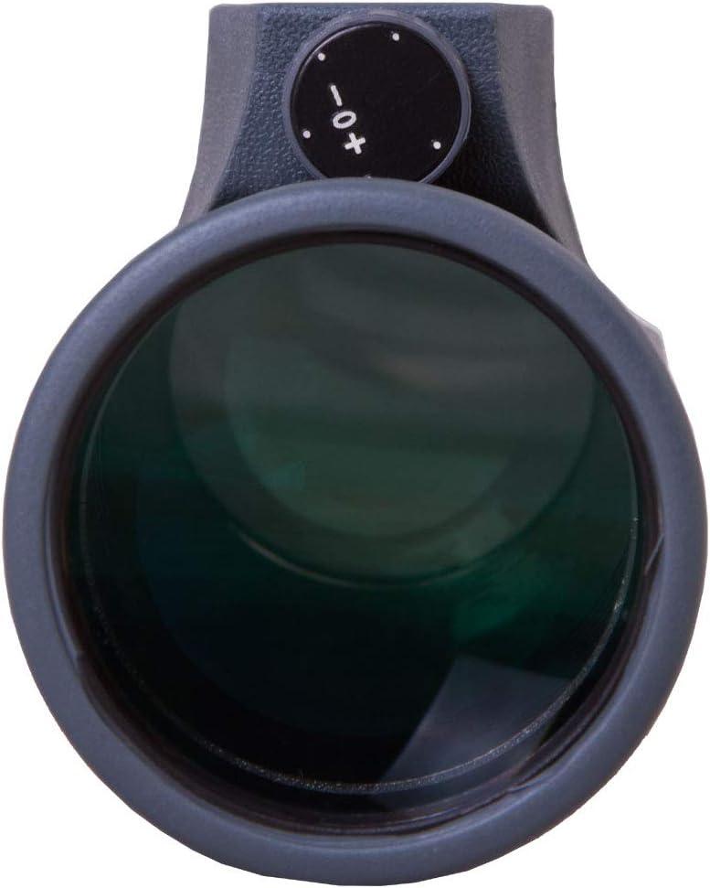 Monocular de Mano Levenhuk Wise 10x42 con /Óptica con Revestimiento M/últiple Completo Hecha de Vidrio BaK-4 para Obtener Im/ágenes Brillantes y Claras