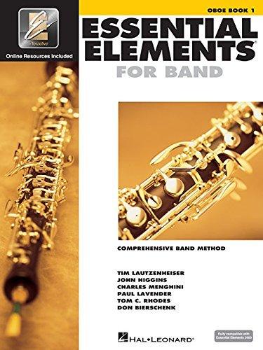 Essential Elements 2000: Book 1 (Oboe) [Paperback] [1999] Hal Leonard - Elements Essential Oboe