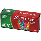 Indoor/Outdoor 35-Count Multi Color Christmas Light Set