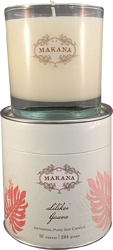 Free Shipping Makana 100/% Soy Wax Candles 10 oz Choose Fragrance