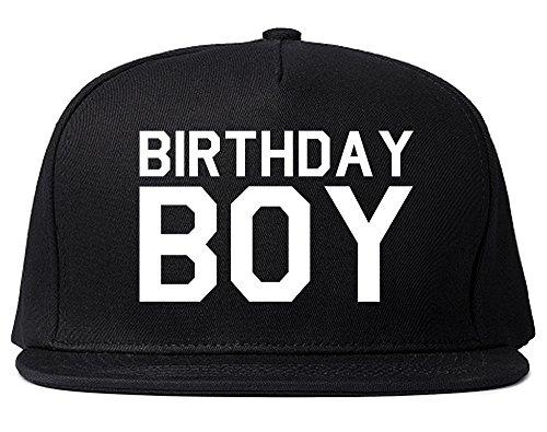 Birthday Boy Snapback Hat Cap Black]()