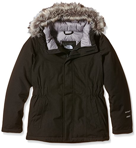 The North Face Kids Girl's Greenland Down Parka (Little Kids/Big Kids) TNF Black Outerwear LG (14-16 Big Kids) by The North Face