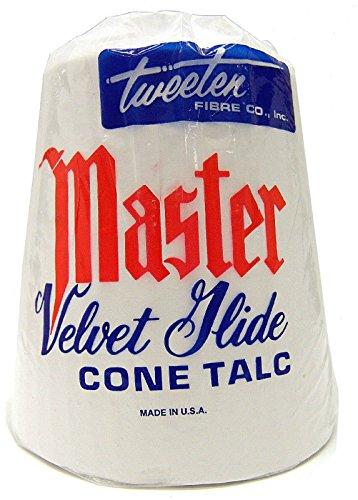 - Master Tweeten Velvet Glide Hand Cone Billiard Chalk Talc