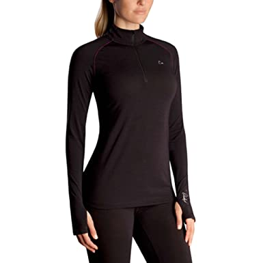 2abffb058 Paradox Base Layer Top for Women - Black (Small) at Amazon Women's ...