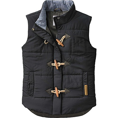 Legendary Whitetails Ladies Quilted Vest Black X-Large