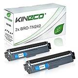 2 Toner kompatibel zu Brother TN-242 TN-246 für Brother MFC-9142CDN, HL3142CW, DCP-9017CDWG1,DCP-9022CDW, HL-3152CDW, MFC-9342CDW, HL-3172CDW, MFC-9332CDW - Schwarz je 2.500 Seiten