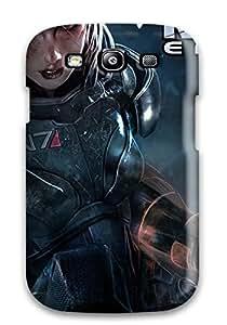 Premium Durable Mass Effect Fashion Tpu Galaxy S3 Protective Case Cover
