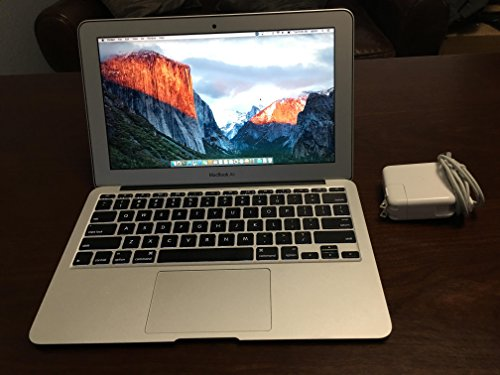 Apple MacBook Air MD711LL/B 11.6-Inch Laptop (8GB RAM, 128 GB HDD,OS X Mavericks) (Certified Refurbished)
