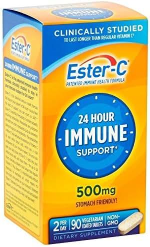 Ester-C 500 mg Coated Tablets 90 ea