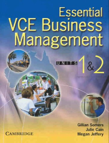 Download Essential VCE Business Management Units 1 and 2 with CD-Rom ebook