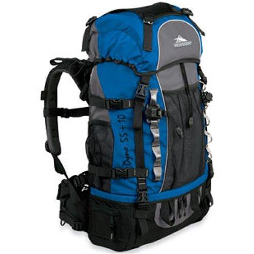 UPC 040176192161, High Sierra Internal Frame Backpacks Dyno 55+10, Navy/Dive/Black