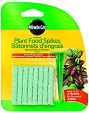 Miracle-Gro 1102521 Indoor Plant Food Spikes Tray 6-12-6