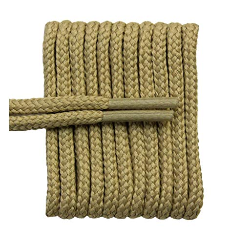 FeetPeople Round Laces, 72 in. x 1 Pair, Tan