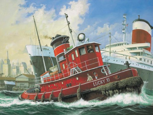 Review Revell Harbour Tug