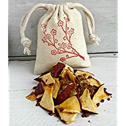 Apple Cinnamon Sachets | Apple Sachet Favors | Aromatherapy | Sachet Bags | Apple Cinnamon Scented Sachet | Cherry Blossom Bag | Holiday Bag
