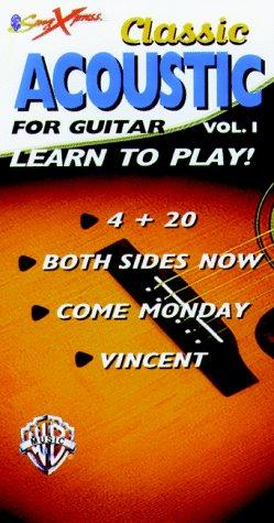 Songxpress: Classic Acoustic for Guitar, Vol. 1 [VHS]