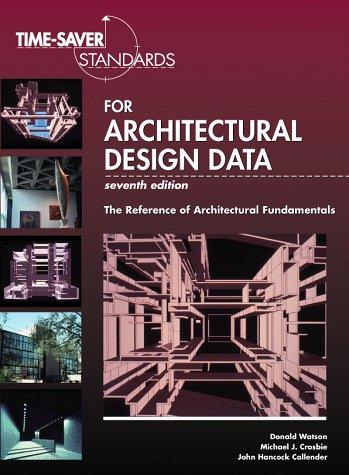 Time Saver Standards For Architectural Design Data
