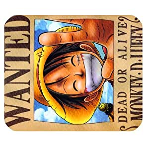 Anime Series One Piece Customized Standard Rectangle Mouse pad 220mm*180mm*3mm by runtopwell