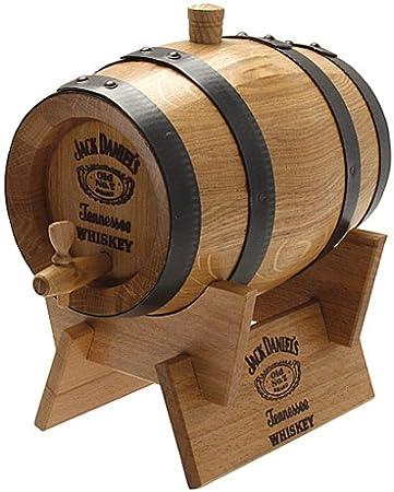 American Shop Jack Daniel¿s 2,0 Liter Holzfass: Amazon