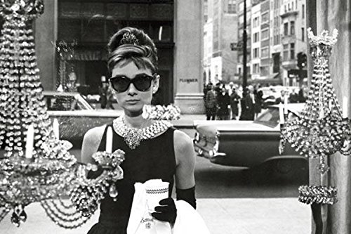 Audrey Hepburn-Breakfast at Tiffany's-Window Shopping in Bla