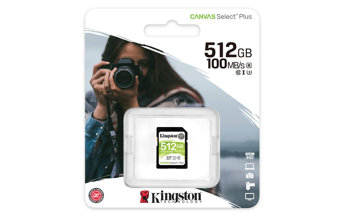 Adapter SDCS2//128GB Kingston 128GB microSDHC Canvas Select Plus 100MB//s Read A1 Class 10 UHS-I Memory Card