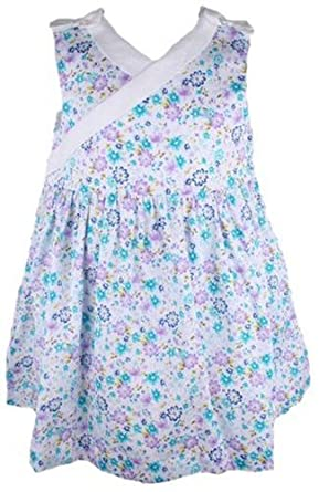 9d0e41198f8 Amazon.com  Laura Ashley SunDress White 12 Months  Infant And ...