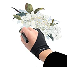 Huion Anti-fouling Artist Glove for Graphics Pen Drawing Tablet Monitor Light Box Tracing Board (1 Unit) - Cura CR-02 (Free Size)