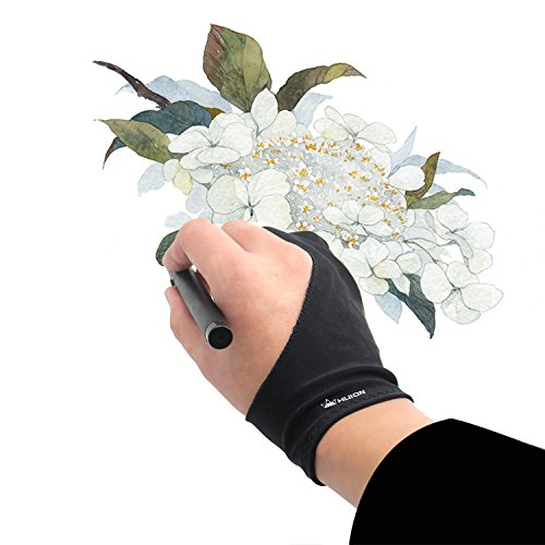 - Huion Artist Glove for Drawing Tablet (1 Unit of Free Size, Good for Right Hand or Left Hand) - Cura CR-01